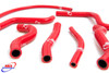 HONDA CR 125 2000-2002 HIGH PERFORMANCE SILICONE RADIATOR HOSES