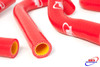 SUZUKI RMZ 450 2008-2014 HIGH PERFORMANCE SILICONE RADIATOR HOSES RED