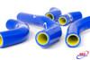 SUZUKI RMZ 250 2013-2018 HIGH PERFORMANCE SILICONE RADIATOR HOSES BLUE