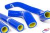 SUZUKI RM 250 1996-2000 HIGH PERFORMANCE SILICONE RADIATOR HOSES BLUE