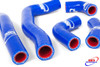 HONDA CRF 450 R 2006-2008 HIGH PERFORMANCE SILICONE RADIATOR HOSES BLUE