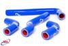 HONDA CRF 450 X 2005-2017 HIGH PERFORMANCE SILICONE RADIATOR HOSES BLUE