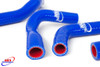HONDA CRF 250 R 2004-2009 CRF 250 X 2004-2019 HIGH PERFORMANCE SILICONE RADIATOR HOSES BLUE