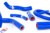 HONDA CR 125 1990-1997 HIGH PERFORMANCE SILICONE RADIATOR HOSES BLUE