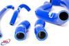 SUZUKI SV 650 S K1 K2 1999-2002 HIGH PERFORMANCE SILICONE RADIATOR HOSES BLUE