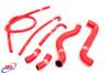 SUZUKI SV 650 S K1 K2 1999-2002 HIGH PERFORMANCE SILICONE RADIATOR HOSES RED
