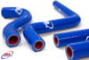 HONDA CR 125 2003-2004 HIGH PERFORMANCE SILICONE RADIATOR HOSES BLUE