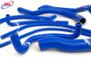 SUZUKI GSXR 600 750 2000-2003 K1 K2 K3 HIGH PERFORMANCE SILICONE RADIATOR HOSES BLUE