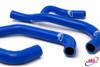 SUZUKI GSF 400 BANDIT 1989-1998 HIGH PERFORMANCE SILICONE RADIATOR HOSES BLUE