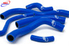 HONDA CB 900 HORNET SC48 2002-2007 HIGH PERFORMANCE SILICONE RADIATOR HOSES BLUE