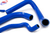 BMW S 1000 R RR HP4 XR 2009-2016 HIGH PERFORMANCE SILICONE RADIATOR HOSES BLUE