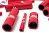 YAMAHA YZF 600 R6 2006-2021 HIGH PERFORMANCE SILICONE RADIATOR HOSES RED