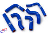 BETA RR 250 300 2T 2013-2015 HIGH PERFORMANCE SILICONE RADIATOR HOSES BLUE