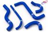 HONDA CBR 125 2004-2019 HIGH PERFORMANCE SILICONE RADIATOR HOSES BLUE