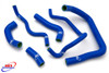 KAWASAKI ZX10R ZX 10 R 2008-2010 HIGH PERFORMANCE SILICONE RADIATOR HOSES BLUE