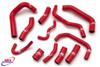HONDA CBR 1000 RR FIREBLADE 2004-2005 HIGH PERFORMANCE SILICONE RADIATOR HOSES-