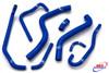 YAMAHA YZF 600 THUNDERCAT 1996-2003 HIGH PERFORMANCE SILICONE RADIATOR HOSES BLUE
