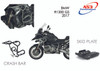 BMW R 1200 GS 2017-2018 AS3 PERFORMANCE CRASH BARS GUARDS BLACK