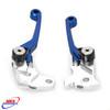 YAMAHA WR 250 R 2008-2020 WR 250 X 2008-2011 FRONT BRAKE & CLUTCH FLEXI PIVOT LEVERS BLUE