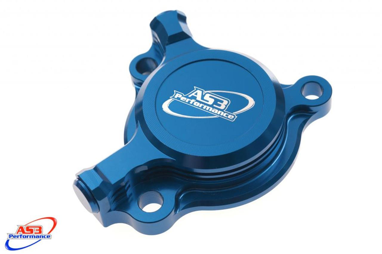 YAMAHA YZF YZ-F WRF WR-F 250 2001-2013 CNC ALUMINIUM CASE SAVER BLUE
