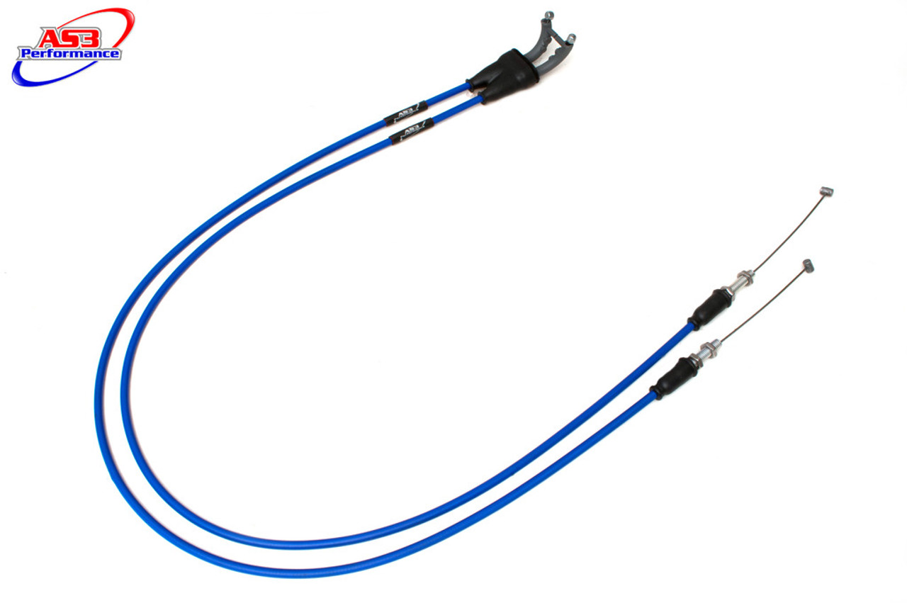 AS3 VENHILL FEATHERLIGHT CLUTCH CABLE to fit KAWASAKI ZX6R 2005-2006 BLUE
