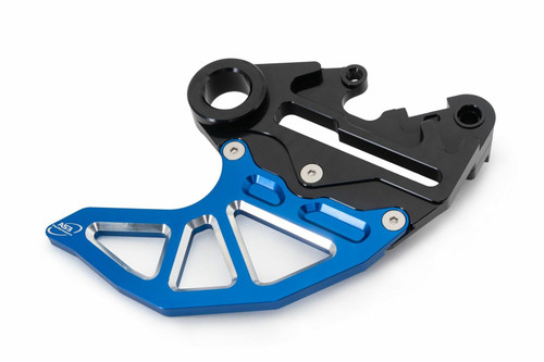 HUSQVARNA TC FC FX 125 250 350 450 2018 AS3 REAR BRAKE DISC GUARD CALIPER MOUNT BLUE