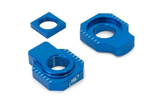 HUSQVARNA TC FC 125 250 350 450 14-15 TE FE 300 501 14-20 AS3 REAR AXLE BLOCKS BLUE