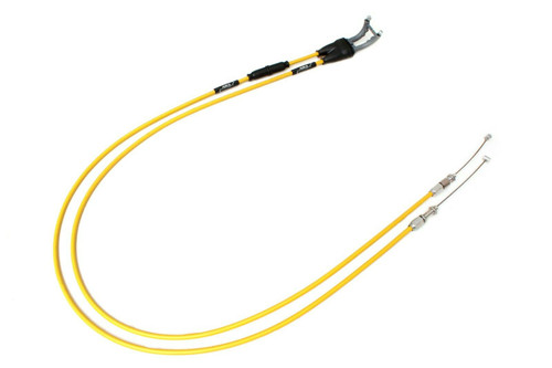 SUZUKI RMZ 450 2015-2017 AS3 VENHILL FEATHERLIGHT THROTTLE CABLES YELLOW