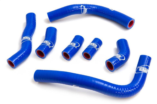 HONDA CRF 450 R 2009-2012 HIGH PERFORMANCE SILICONE RADIATOR HOSES BLUE