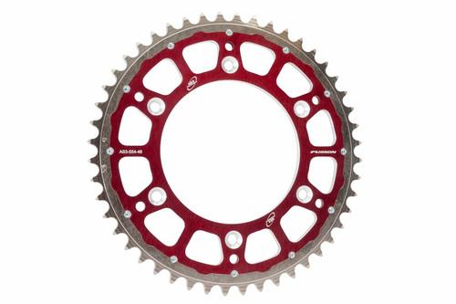 BETA 250 350 400 450 498 520 RR 2005-2012 FACTORY REAR SPROCKET 52T RED