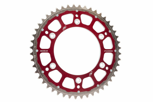 GAS GAS EC XC 125 200 250 300 1997-2020 FACTORY REAR SPROCKET 49T RED