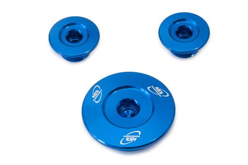 HONDA CRF 250 R 2004-2009 CRF 250 X 2004-2017 ENGINE PLUG KIT BLUE