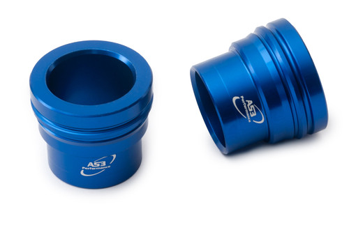 HUSQVARNA 701 SUPERMOTO 2016-2021 AS3 FRONT WHEEL SPACERS BLUE