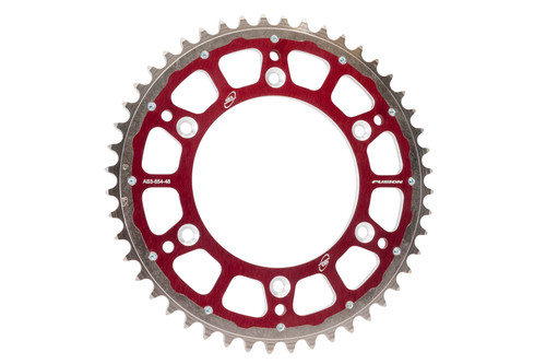 RIEJU MR 300 2021 AS3 PERFORMANCE FACTORY REAR SPROCKET 48T RED