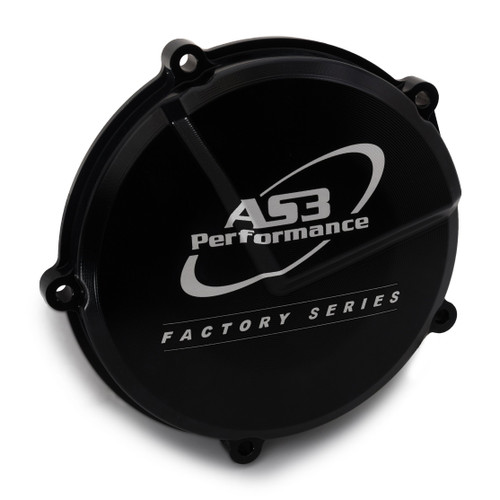 RIEJU MR 300 2021 AS3 PERFORMANCE FACTORY SERIES HARD ANODISED CLUTCH COVER BLACK