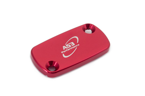 RIEJU MR 300 2021 AS3 PERFORMANCE FRONT BRAKE RESERVOIR COVER RED