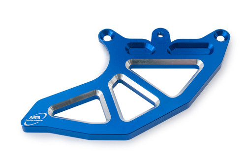 AS3 PERFORMANCE REPLACEMENT REAR BRAKE DISC GUARD FIN BLUE