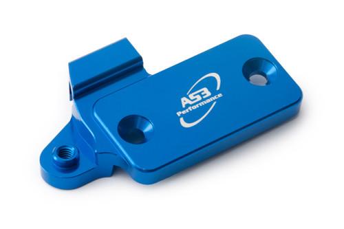 HUSABERG FE 450 550 650 2005-2008 AS3 CLUTCH MASTER CYLINDER RESERVOIR COVER BLUE