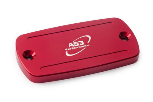 HONDA CBF 600 S 2004-2010 CBF 1000 2006-2012 AS3 FRONT BRAKE RESERVOIR COVER RED