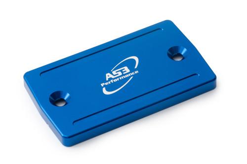 SUZUKI DL 650 V-STROM 2004-2020 DL 1000 V-STROM 2002-2019 AS3 FRONT BRAKE RESERVOIR COVER BLUE