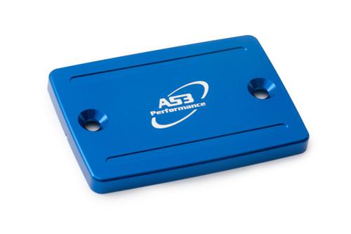 KAWASAKI ZZR 600 ZZR 1100 ZZR 1200 GPZ 500 GPZ 1100 AS3 FRONT BRAKE RESERVOIR COVER CAP BLUE