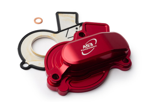 GAS GAS MC 450 F EX 450 F 2021-2022 AS3 PERFORMANCE WATER PUMP COVER RED