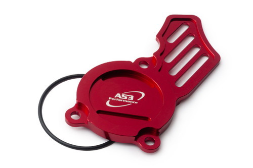 GAS GAS MC EC EX 250 350 F 2021-2022 AS3 OIL PUMP CAP COVER RED