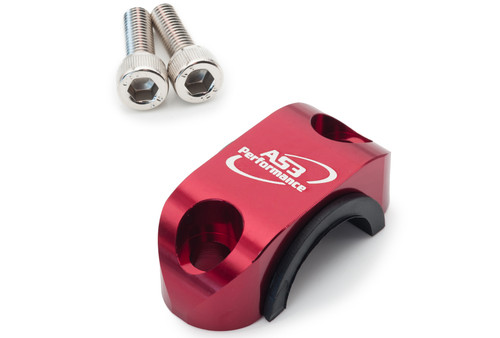FANTIC XX 125 XE 125 XEF 250 2021 AS3 ROTATING CLUTCH BRAKE CYLINDER BAR CLAMP RED