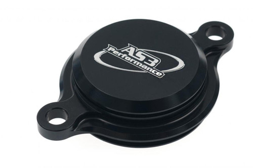 FANTIC XEF 250 2021 AS3 PERFORMANCE OIL FILTER CAP COVER BLACK