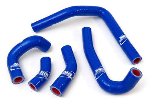 HONDA CR 250 2002-2008 HIGH PERFORMANCE SILICONE RADIATOR HOSES BLUE