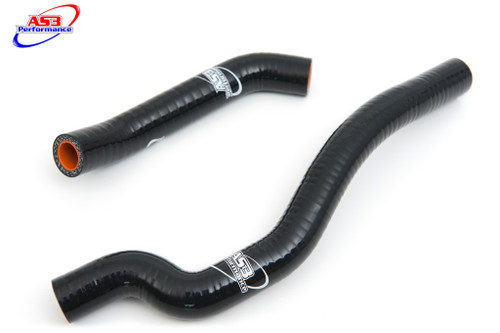 KTM 620 625 640 660 LC4 625 SMC HIGH PERFORMANCE SILICONE BREATHER HOSES BLACK