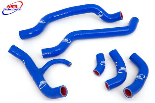 DUCATI 848 1098 1198 2007-2014 HIGH PERFORMANCE SILICONE RADIATOR HOSES BLUE