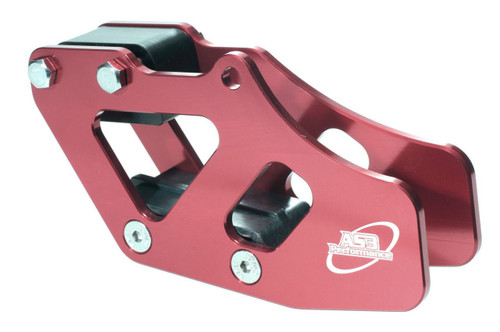 HONDA CR 125 250 1990-2004 CRF 250 450 2002-2004 CNC ALUMINIUM CHAIN GUIDE RED