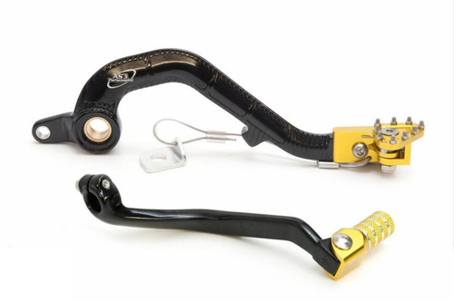 SUZUKI RM 125 2001-2008 FORGED GEAR LEVER and REAR BRAKE PEDAL COMBO SET